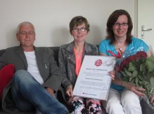 Roos van Verdienste van PvdA voor ReumActief